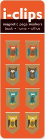 Owls i-Clip Magnetic Page Markers by , 9781593593421