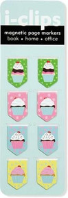 Cupcake i-Clips Magnetic Page Markers, 9781441305343