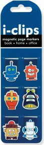 Robots i-Clips Magnetic Page Markers by , 9781441316806