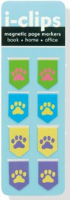 Pawprints i-clips Magnetic Page Markers by , 9781441312525