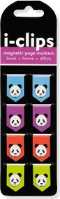 Pandas i-Clips Magnetic Page Markers by , 9781441319302