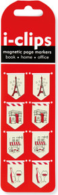 Paris i-Clips Magnetic Page Markers, 9781441322807