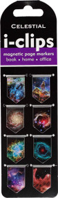 Celestial i-clips Magnetic Page Markers (Set of 8 Magnetic Bookmarks), 9781441334763