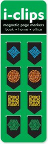 Celtic i-Clips Magnetic Page Markers by , 9781441305336