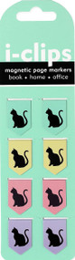 Black Cats i-clips Magnetic Page Markers, 9781441328236
