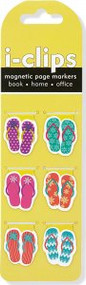 Shaped Flip Flops i-clips Magnetic Page Markers by , 9781441315038