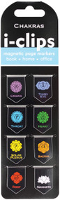 Chakras i-clips Magnetic Page Markers, 9781441332097