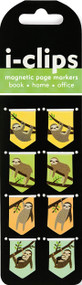Sloths i-Clips Magnetic Page Markers, 9781441322647