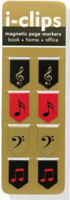 Music i-clips Magnetic Page Markers by , 9781441312518