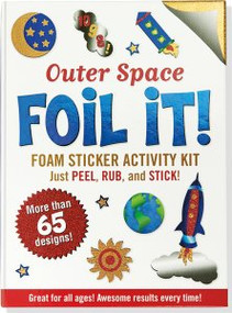 Large Foil It! Outer Space by , 9781441313812