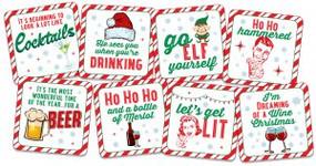 Holiday Coaster Set by , 9781441328274