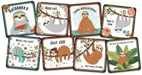 Sloths Coaster Set by , 9781441328281