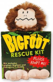 Bigfoot Rescue Kit by , 9781441310101