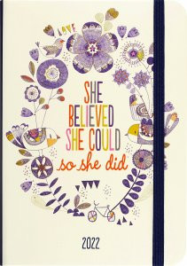 2022 She Believed She Could Weekly Planner (16-Month Engagement Calendar) by , 9781441336293