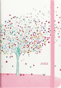 2022 Tree of Hearts Weekly Planner (16-Month Engagement Calendar) by , 9781441336330