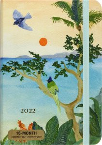 2022 Tropical Paradise Weekly Planner (16-Month Engagement Calendar) by , 9781441336347