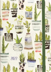 2022 Watercolor Succulents Weekly Planner (16-Month Engagement Calendar) by , 9781441336361