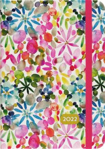 2022 Watercolor Garden Weekly Planner (16-Month Engagement Calendar) by , 9781441336354