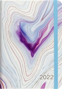 2022 Blue Agate Weekly Planner (16-Month Engagement Calendar) by , 9781441336200