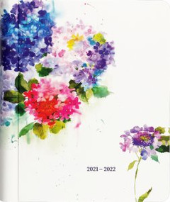 2022 Hydrangeas Mom's Weekly Planner (18-Month Family Calendar) by , 9781441335791