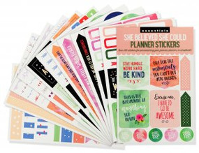 Essentials She Believed Planner Stickers by , 9781441328700