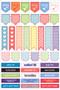 Essentials Habit Tracker Planner Stickers (52 weeks of stickers) by , 9781441328496