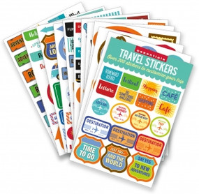 Essentials Travel Planner Stickers (set of 200+ stickers) by , 9781441327864