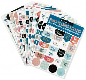 Essentials Mom's Planner Stickers (set of 575 stickers) by , 9781441324085