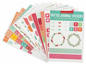 Essentials Dotted Journal Planner Stickers by , 9781441328731
