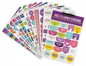 Essentials Bible Weekly Planner Stickers by , 9781441329974