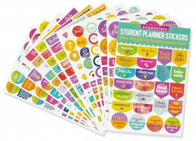 Essentials Student Planner Stickers (set of 575 stickers) by , 9781441327710