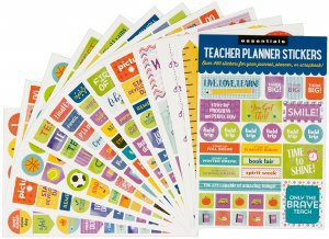 Essentials Teacher Planner Stickers by , 9781441331830
