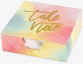 Watercolor Sunset Desk Notes by , 9781441328243