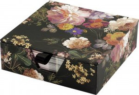 Midnight Floral Desk Notes by , 9781441334862