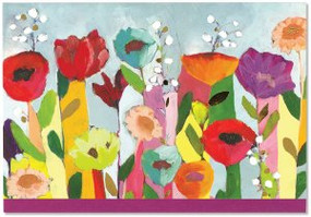 Brilliant Floral Note Cards by , 9781441326591