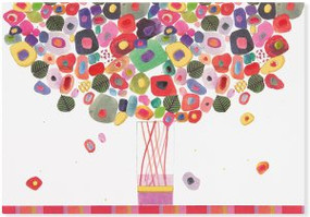 Candy Bouquet Note Cards by , 9781441324047