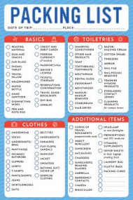 Packing List Note Pad by , 9781441331915