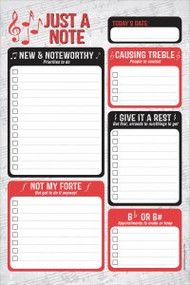 Just a Note Note Pad by , 9781441332851