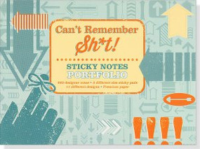 Can't Remember Sh*t Sticky Notes by , 9781441319425