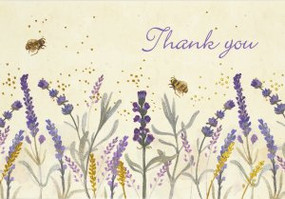 Lavender & Honey Thank You Notes by , 9781441331519