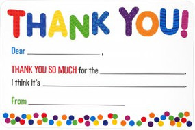 Children's Fill-In Thank You Notes (20 Cards) by , 9781441331939