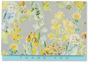 Blossom Thank You Notes by , 9781441328090