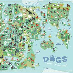 Dogs Around the World, 653341298607