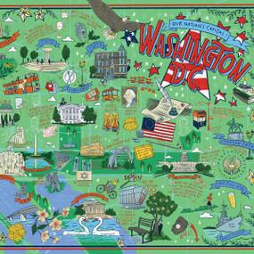 Washington, DC Illustrated, 644216573905