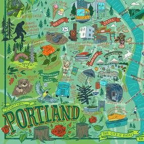 Portland Illustrated, 644216570799