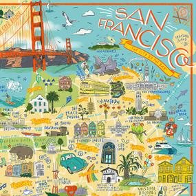 San Francisco Illustrated, 644216570898