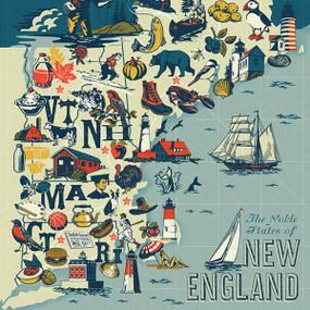 New England States, 653341298805