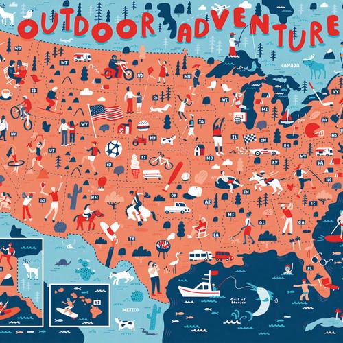 Outdoor Adventures, 644216573608