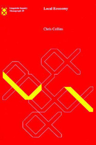 Local Economy by Chris Collins, 9780262531443