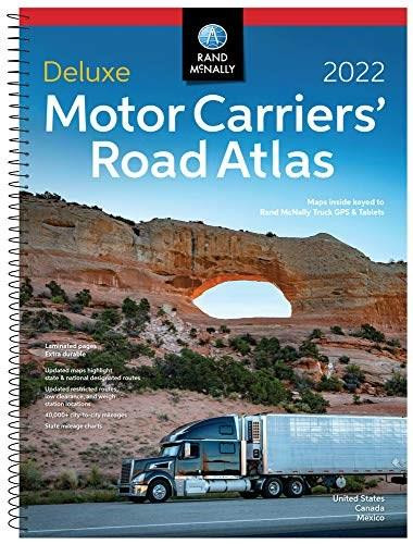 Rand McNally 2022 Deluxe Motor Carriers' Road Atlas  by Rand McNally , 9780528024139
